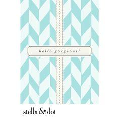 Stella & Dot Stella & Dot e-Gift Card!!!!!  Perfect gift!!!  www.stelladot.com/angelynhorrell