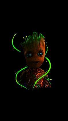groot wallpaper by - 68 - Free on ZEDGE™ Baby Groot, Marvel Vs, Marvel Heroes, Marvel Comics, Disney Drawings, Cute Drawings, Disney Wallpaper, Wallpaper Backgrounds, Dragonball Anime