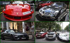 صور سيارات أثرياء العرب تغزو لندن من جديد!
