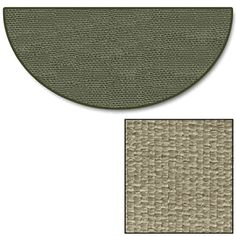 Goods of the Woods Tan Half Round Guardian Hearth Rug - 32 Inch x 60 Inch $119