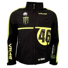 Valentino Rossi VR46 Dual Monster MotoGP Soft Shell Replica Jacket Official 2016