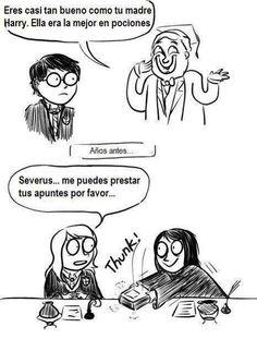 Harry Potter & los apuntes prestados