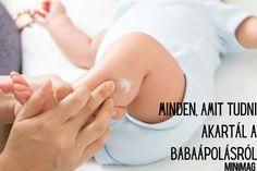 A csecsemőknek meglehetősen érzékeny a bőrük, amely speciális gondozást igényel, és nagyon hamar azzal szembesülhetsz újdonsült anyukaként, hogy szanaszét aggódod magad a babád bőre miatt (is). Ezt mi semmiképpen se szeretnénk, ezért ebben a Minimag átfogó cikkében A-Z-ig, vagy, ha úgy jobban tetszik hajtól – lábujjig megtudhatod a baba bőrápolás rejtelmeit. Used Cloth Diapers, Free Diapers, Omega Fettsäuren, Baby Skin Care, Diaper Rash, Healthy Skin Care, Free Baby Stuff, Skin Problems, Health Products