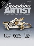 I will be on the cover of the August issue of Sunshine Artist- will be out in early July!