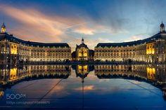 Place de la Bourse - Bordeaux by TomteBuck. @go4fotos