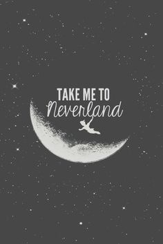 TAKE ME TO NEVERLAND #wallpaperiphone