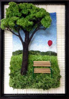 Dimensional Weaving - Martina Celerin Fiber Art Source by folkfiddle Weaving Textiles, Weaving Art, Loom Weaving, Tapestry Weaving, 3d Wall Art, Wall Art Sets, Weaving Wall Hanging, Small Art, Textile Artists