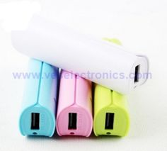 2015 Newest Power Supply USB Power Bank Mobile Phone Battery Accessories 2600mAh…