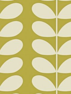 Orla Kiely's Giant Stem (110395) is taken from the Orla Kiely Wallpapers wallpaper collection.
