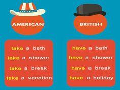 American vs English