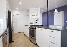 Before & After: An NYC Kitchen Opens Up — Sweeten | Apartment Therapy