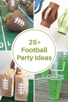 Nfl Party, Football Party Foods, Football Tailgate, Football Birthday, Sports Party, Football Season, Football Parties, College Football, Football Food