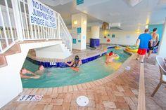 Indoor lazy river.  Paradise Resort Condos for Sale | Myrtle Beach Condos   #paradiseresort  http://www.c21theharrelsongroup.com/paradise-resort/