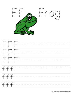 Ff for Frog