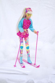 Winter Sport Barbie Ski
