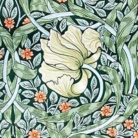 William Morris Strawberry Thief Tile Fireplace Kitchen Ceramic//Porcelain Black 2
