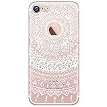 coque iphone 8 silicone transparente cute motif fantaisie