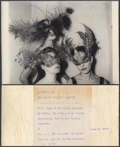 Carnival masks 1957
