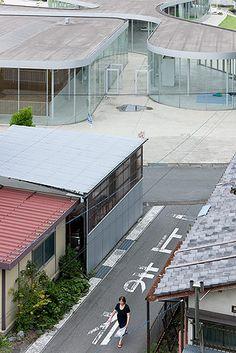 Onishi Town Hall - Onishi - Japan  by SANAA