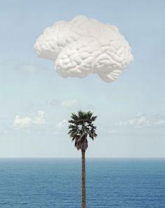 John Baldessari - Brain Cloud