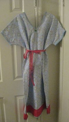 Diary of a Preppy Mom: Maternity Hospital Gown
