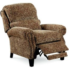 Lane Hi Leg Recliners Traditional Hogan Hileg Recliner With Rolled Arms And  Nailhead Trim   John