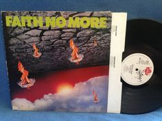 RARE Vintage Faith No More  The Real Thing Vinyl by sweetleafvinyl