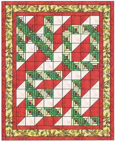 quilt block pattern alphabet letters | Christmas Quilt Patterns – Erica's Craft & Sewing Center
