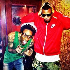 Wiz Khalifa & The Game