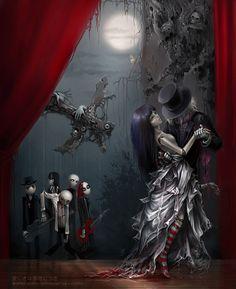 Gothic Cabaret: The art of Anna Ignatieva