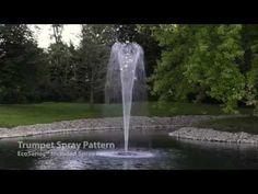 Airmax® EcoSeries™ 1/2 HP Fountain - Trumpet Spray Pattern