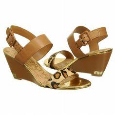 Sam Edelman Women's Sutton Shoes (Saddle/Leopard)