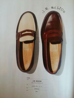 J.M.WESTON Hot Shoes, Men's Shoes, Shoe Boots, Jm Weston, Timeless Elegance, Penny Loafers, Dress Codes, Leather Shoes, Gentleman
