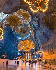 آيا صوفيا .تركيا- اسطنبول