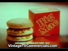 The original McDonald's Big-Mac jingle in 1960s