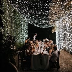 """2,477 Likes, 51 Comments - Rock My Wedding (@rockmywedding) on Instagram: """"Welcome to the tunnel of fairy light love ✨✨✨✨✨✨✨✨✨✨✨✨✨✨✨ . Feature…"""""""
