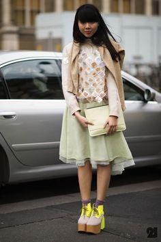 Susie Bubble, brit fashion blogger  stylebubble.co.uk