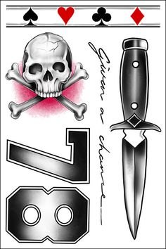 Louis Tomlinson Dagger Temporary Tattoo Sheet of Temporary Tattoos Tiny Tattoos For Girls, Girl Tattoos, Tatoos, Louis Tomlinson Tattoos, Yogi Tattoo, Louis Tomlinsom, Skull And Crossbones, Future Tattoos, Larry Stylinson