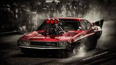 1970 Dodge Challenger R/T Dragster by AmericanMuscle.deviantart.com on @deviantART