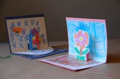 Simple DIY Pop-Up Cards for Creative Kids - TinkerLab