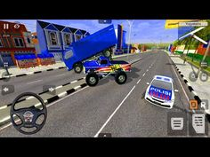 4x4 Monster Race Truck - Bus Simulator Indonesia - Android Gameplay - YouTube
