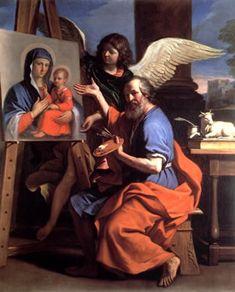 Святой Лука пишет Богородицу