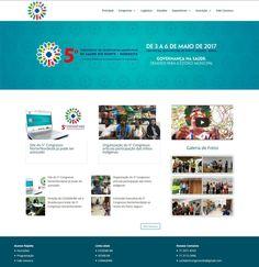 Hotsite utilizando CMS Wordpress para o 5º Congresso de Secretarias Municipais de Saúde do Norte Nordeste