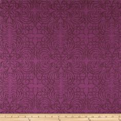 Refresh and modernize an old piece of furniture and update it with a new look. This heavyweight jacquard upholstery fabric is appropriate for accent pillows, upholstering furniture, headboards and ottomans. Colors include plum and purple. For my couch! Fabric Ottoman, Tufted Ottoman, Upholstered Furniture, Accent Pillows, Floor Pillows, Purple Fabric, Princess Gowns, Disney Princess, Fabric Design