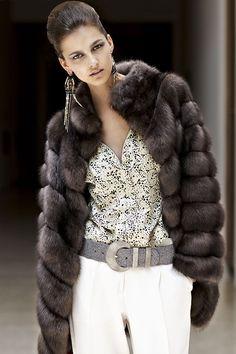 ** sable coat