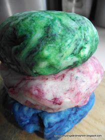 Mummy Musings and Mayhem: Magic Marble Playdough