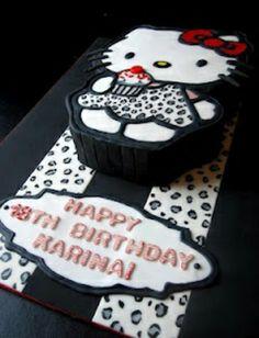birthday cakes cupcakestheme cakescakes cakesanimal print