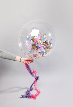 confetti filled balloons - Pesquisa Google