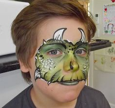 dino face paint face painting ideas for kids