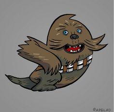 Si le logo Twitter était des personnages...